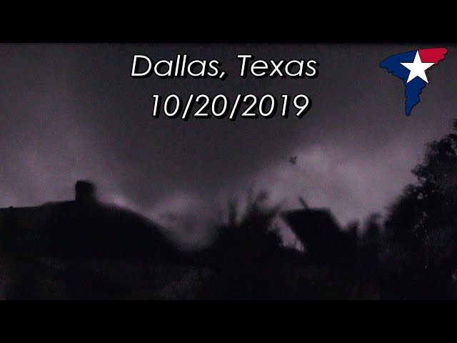 The Dallas Tornado of 10/20/2019 - Chasing and Covering a Disaster