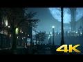 Batman Arkham Knight - Night Storm by the Sea - DreamScene [Live Wallpaper] - 4K