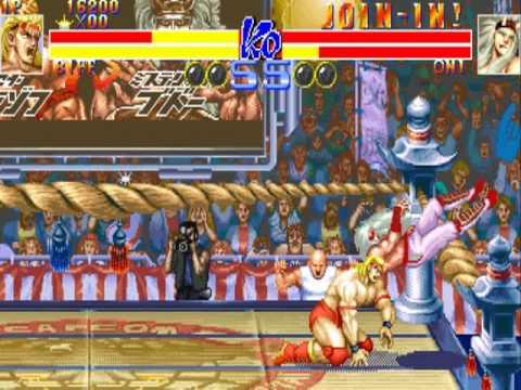 Ring Of Destruction Slammasters Ii Mame Gameplay Video Snapshot Rom Name Ringdest Youtube