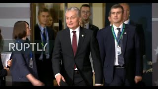 LIVE: DAY 1 of final EC summit before Brexit deadline: arrivals and roundtable