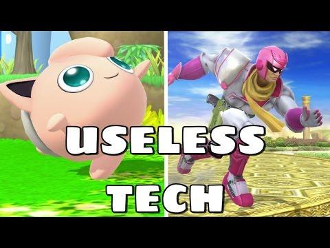 Useless Tech In Smash 4
