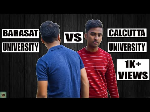 Calcutta University VS Barasat University || CU vs BU ||  Bengali funny video 2018 || Vines Brothers