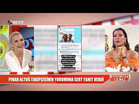 Pınar Altuğ, takipçisinin yorumuna sert yanıt verdi