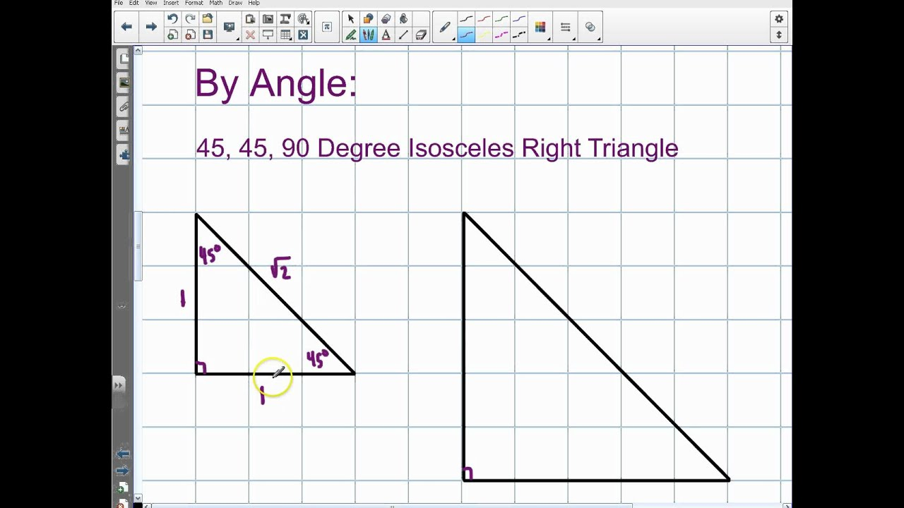 Special Right Triangles (solutions, examples, videos)