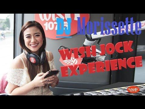 "Morissette Amon, ""THE DJ"". Celebrity Wish Jock Before She Performs Her Viral Cover, Secret Love Song"