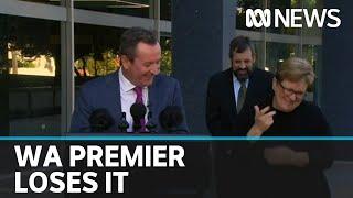 WA Premier cracks up explaining it's not unlawful to get a kebab | ABC News