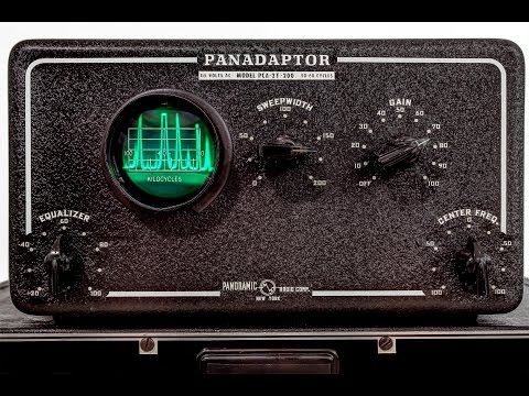 Find hiding radio stations with a, PCA-2T-200 Panadaptor