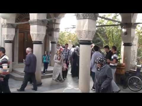 Erzincan Terzibaba Mezarlığında Bayram Yoğunluğu
