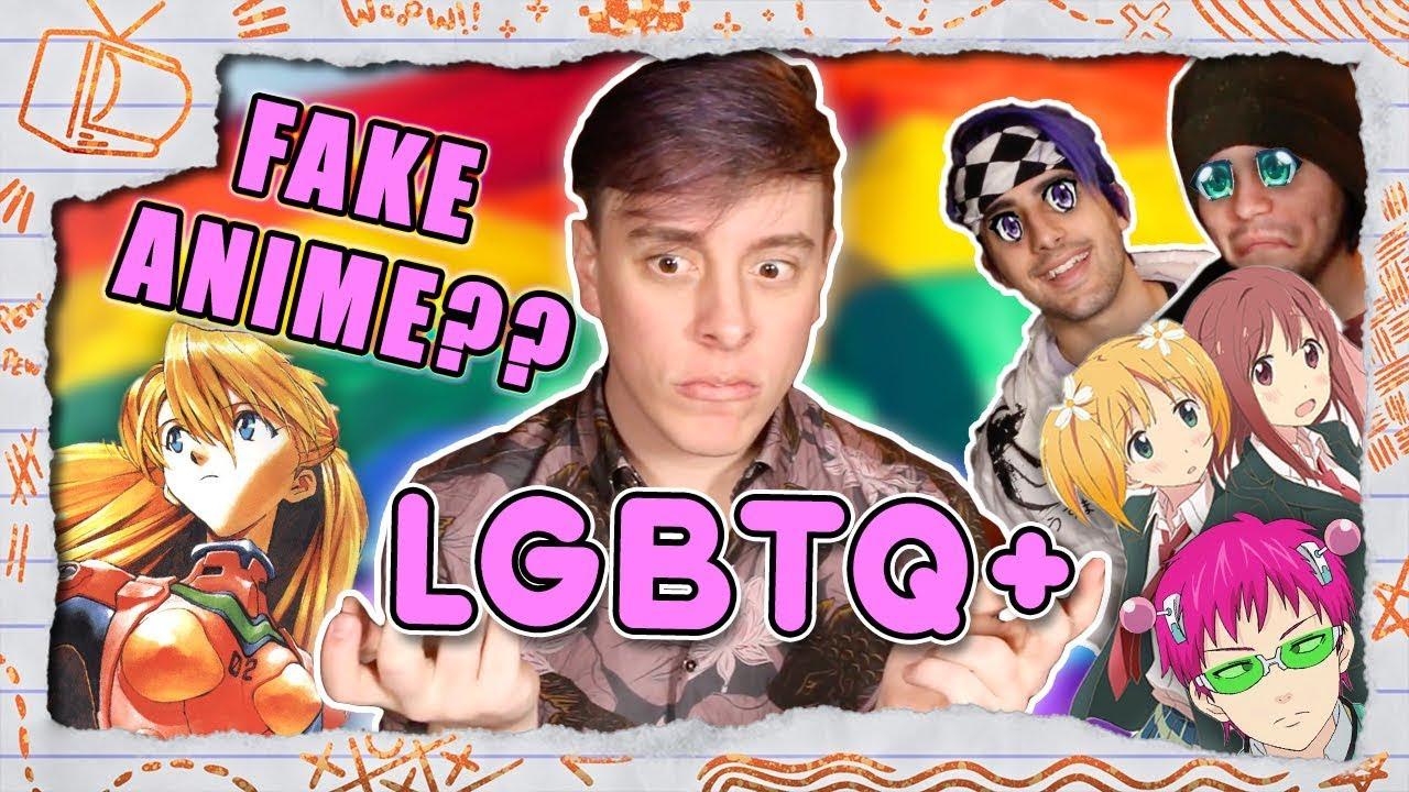 Real or FAKE ANIME?? - LGBTQ+ EDITION! (Pt. 1) | Thomas Sanders & Friends