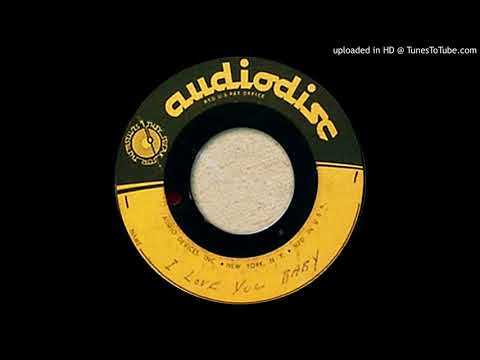 unknown artist: I Love You Baby (acetate) 1950s rockabilly