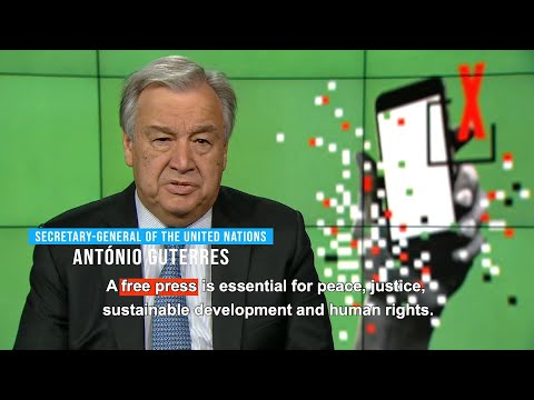 World Press Freedom Day 2019 (3 May) - Message from UN Secretary-General