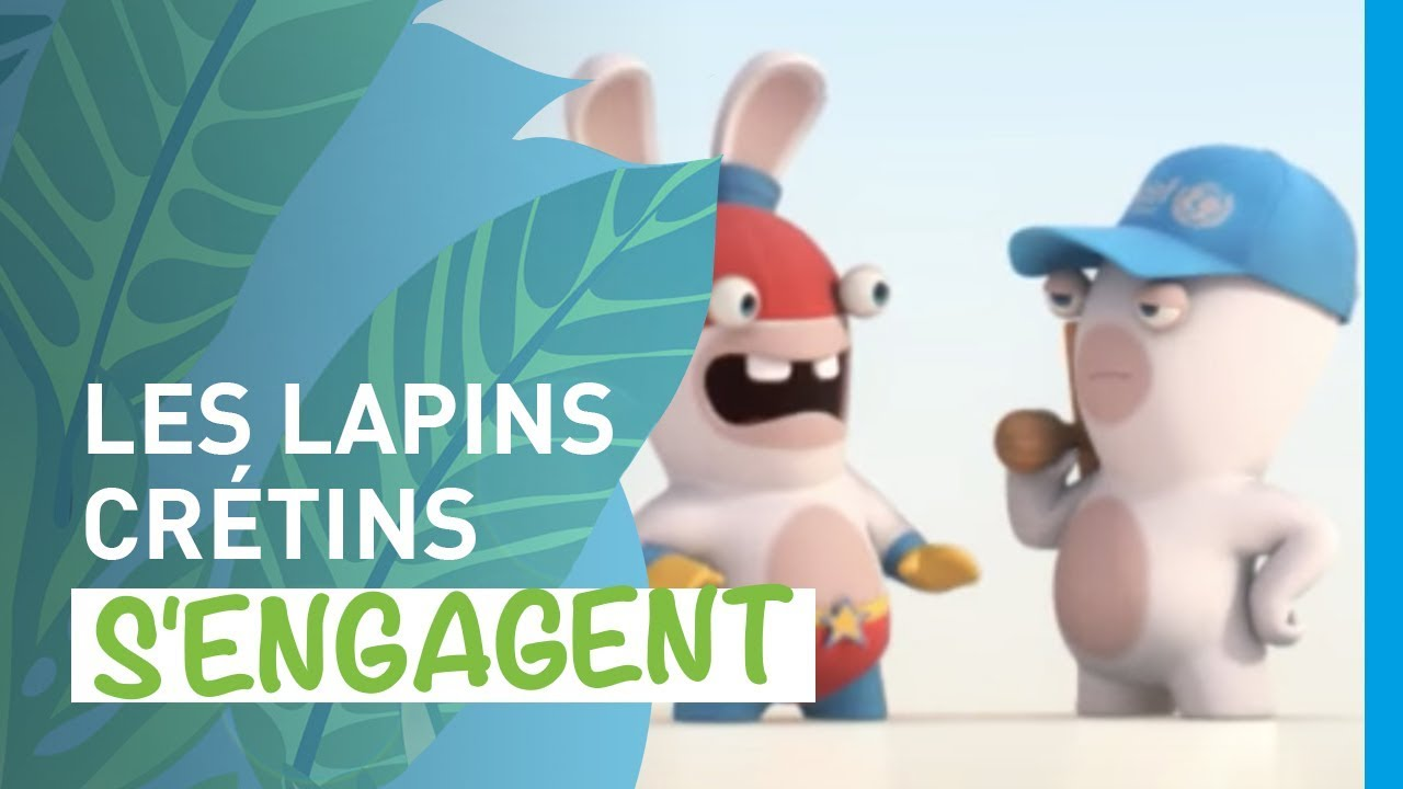 Engage toi pour l unicef france avec les lapins cr tins youtube - Dessin cretin ...