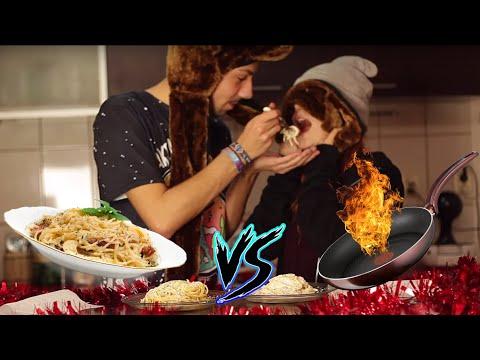 CUMPARAT VS. GATIT #1 | PASTE CARBONARA (cu Bianca Adam)