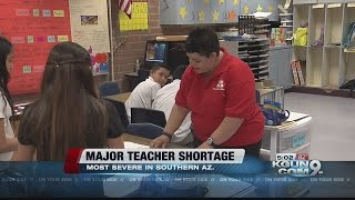 Education Crisis: Teacher shortage is severe in Southern Arizona