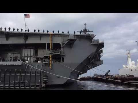 USS Theodore Roosevelt CVN71 Deployment