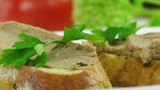 Печеночный паштет на желтках  видео рецепт(Паштет на желтках Рецепт приготовления: http://www.videocooking.ru/retsepty/zakuski/pashtet-na-zheltkakh.html #рецепты #вкусно #видеорецепт..., 2015-08-13T12:00:02.000Z)