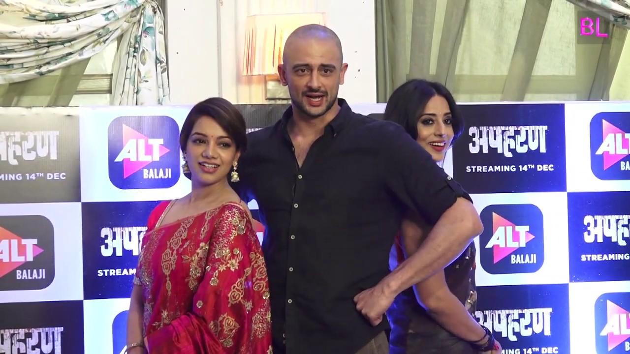 Ekta Kapoor's new web series Apaharan   Arunoday Singh   Mahie Gill   Nidhi  Singh   Uncut 01