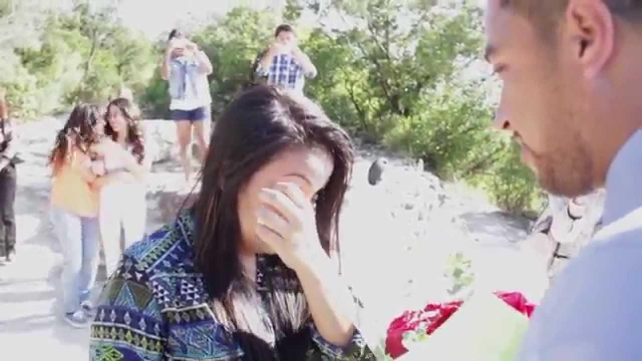The Most Amazing Wedding Proposal