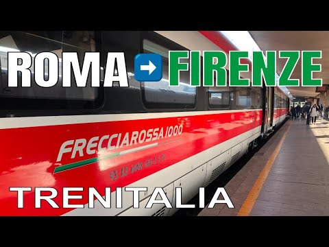 ROME To FLORENCE By Train 2019 | TRENITALIA | TERMINI Station