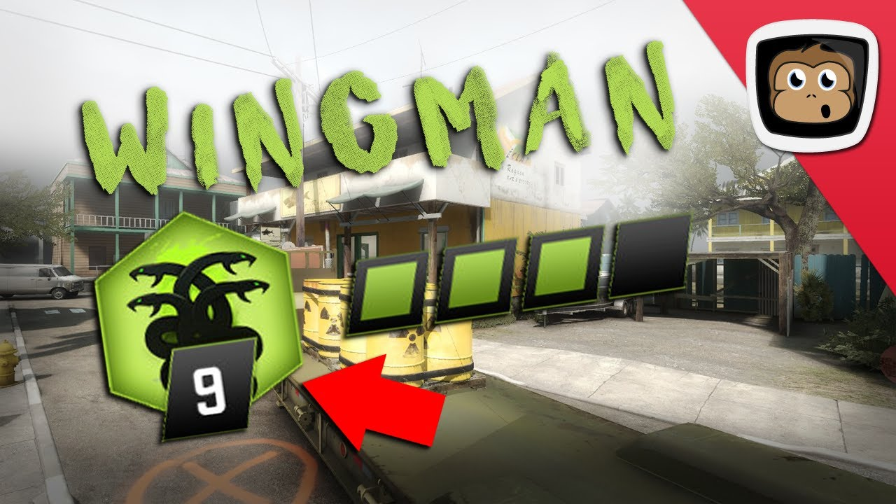 how to play wingman csgo with friends