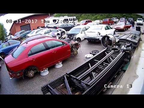 Thief's stealing batteries from my car lot in Hickory Grove, SC!