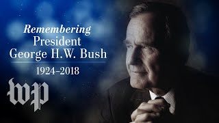Day one of former President George H.W. Bush's funeral