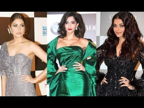 Sonam Kapoor, Aishwarya Rai & Anushka Sharma Sizzling Hot At Vogue Women Of The Year Awards 2017