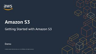 Getting started with Amazon S3 - Demo