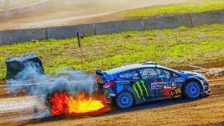 Ken Block's best of rally shakedown crash 2017 Кен Блок ралли