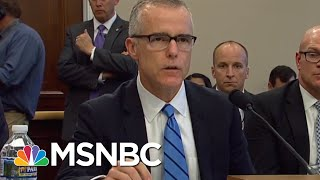 Former FBI Deputy Director Andrew McCabe Will Fight Back Against His Firing | MSNBC
