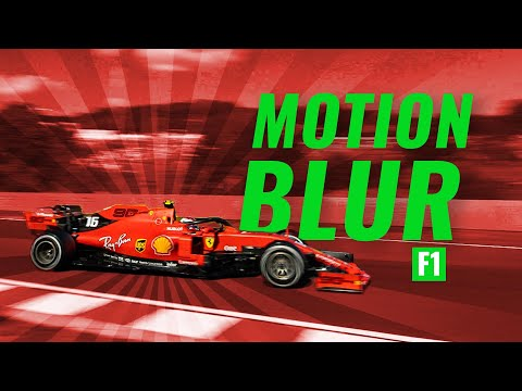 HOW TO SHOOT AN F1 CAR GOING 350KPH WITH MOTION BLUR