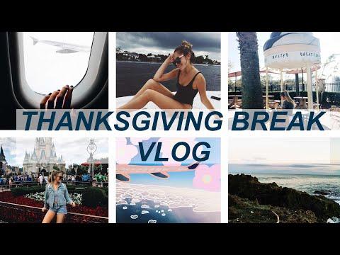THANKSGIVING WEEK VLOG: FLORIDA!! Disney, Universal, Tubing, Vegan Thanksgiving