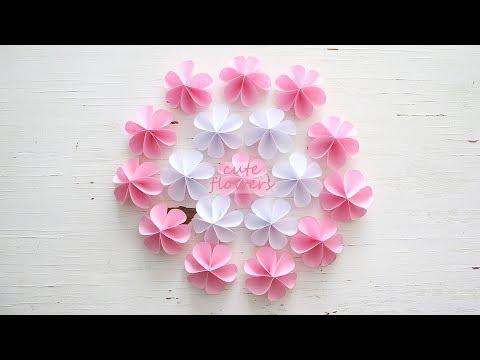 DIY Cute Paper Flowers