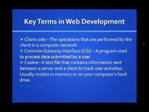 Fundamentals of Web Design | Vol. 2 - Terminology