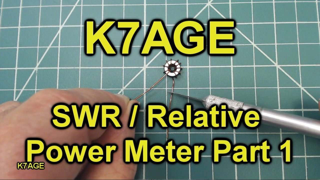 How To Build An SWR / Relative Power Bridge - Part 1
