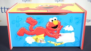 Sesame Street Elmo Toy Box Review