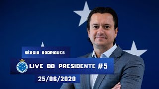 Live do Presidente #5 - Sérgio Santos Rodrigues