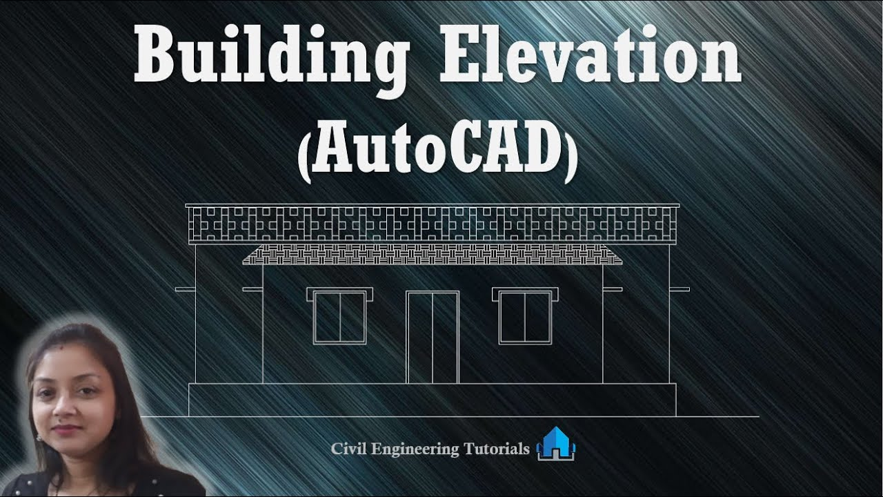 how to draw elevation in autocad 2007