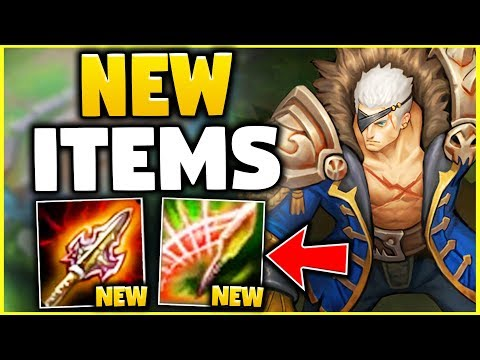 WTF? THESE NEW ITEMS GIVE YOU 400+ AD WHILE FULL TANK!? (100% WILL BE NERFED!) - League of Legends
