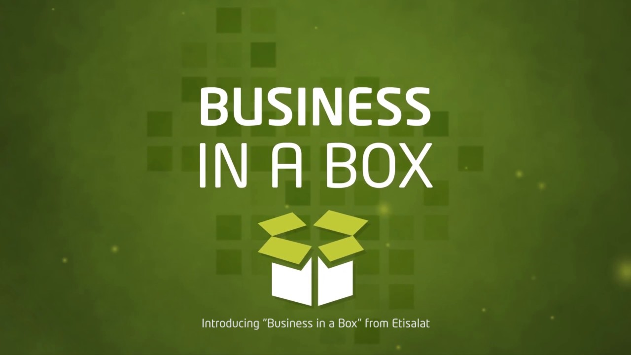 Etisalat UAE | Business in a Box, Etisalat Digital and ICT