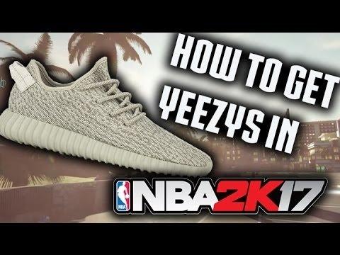 NBA 2K17 How To Make Yeezys!!