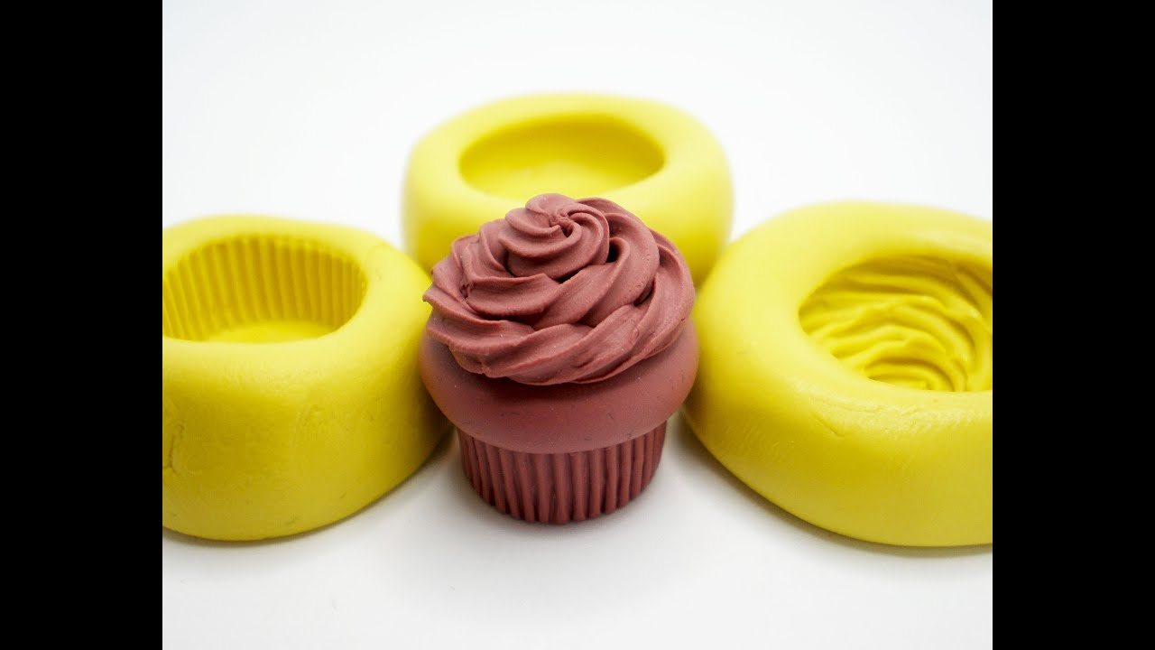 Clay Made Easy 3 Part Cupcake Mold Set Youtube