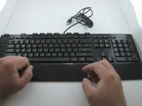 ee066e5a7de Microsoft Sidewinder X4 Gaming Keyboard Review - YouTube