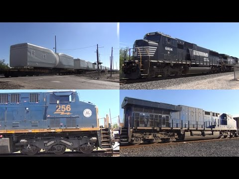 UNIMAGINABLE RAILFANNING! Rosenberg TX NTD 5/13/2017