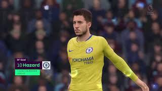 Epl Highlights         Burnley vs Chelsea FC      (28.10.2018)