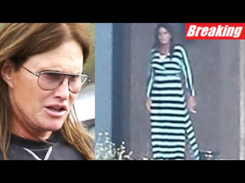 Pictures of bruce jenner in a dress