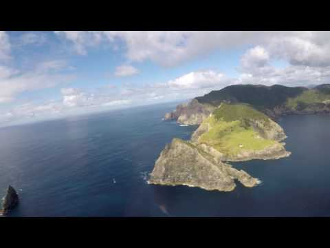 Helicopter Ride Over the Bay of Islands