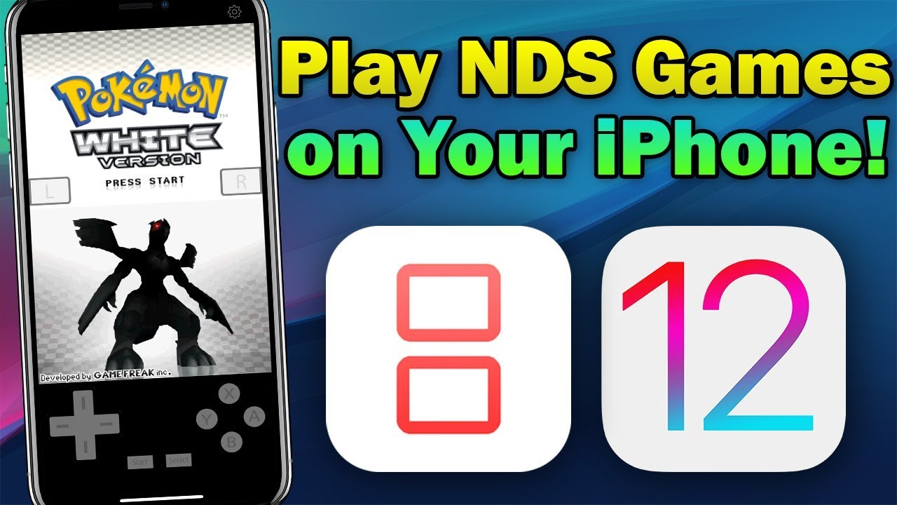 How To Install iNDS Nintendo DS Emulator on iOS 12 (No Jailbreak & No  Computer)
