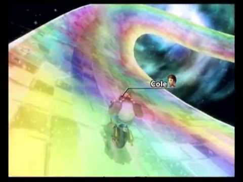 "Mario Kart Wii time trial: Rainbow Road WR (2'29""500)(old)"