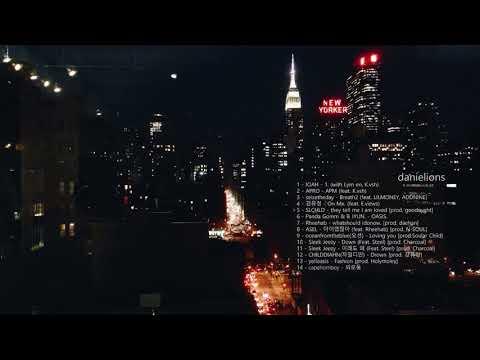 ♫ night vibes / korean underground r&b + hiphop (14 songs)